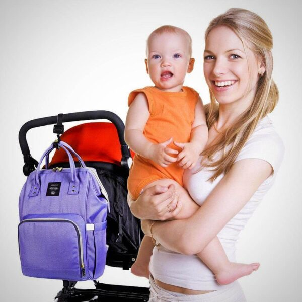 diaper bag backpack with the USB charging port