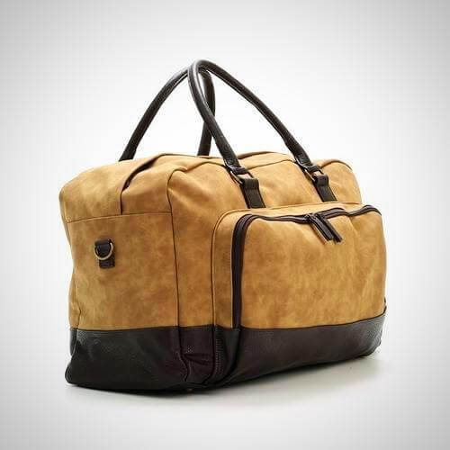 duffle bag marcel two tone duffle bag 3 04616da0 3a70 4095 bc3d