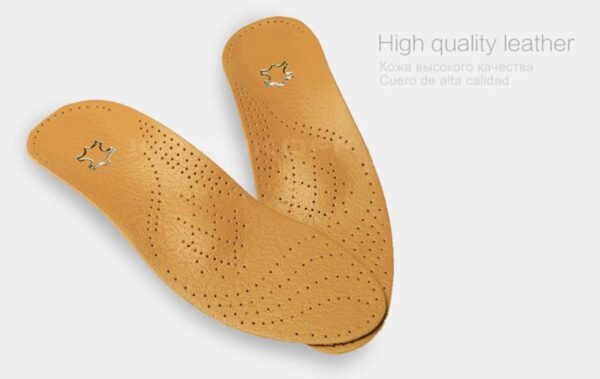 high-quality leather orthotics insoles 2020