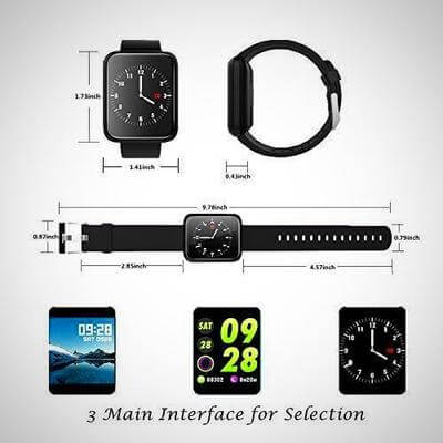 wearable blood pressure monitor smartwatch 2020