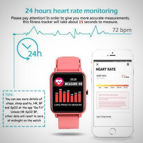 wearable blood pressure monitor smartwatch