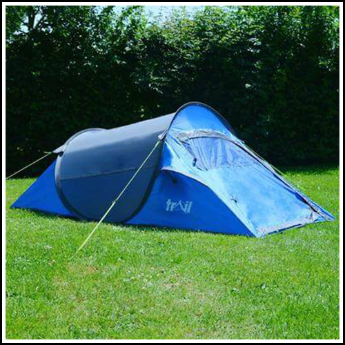 2 MAN POP UP WATERPROOF CAMPING TENT