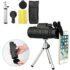 50X60 MONOCULAR TELESCOPE HD ZOOM OPTICAL LENS CAMERA WITH PHONE CLIP TRIPOD