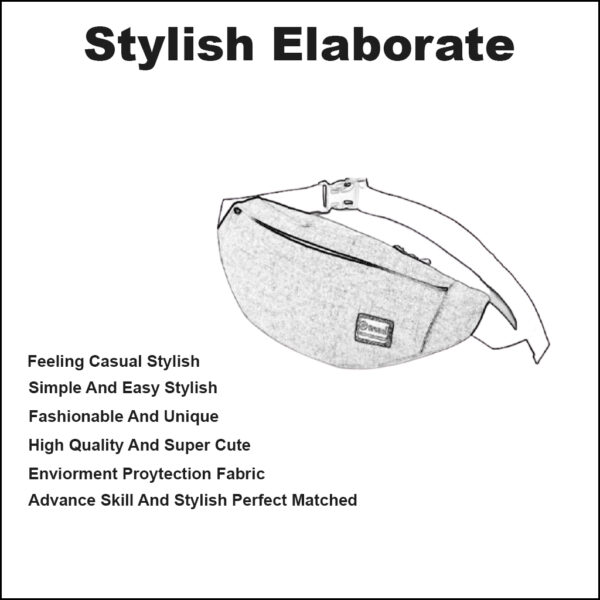 CASUAL FANNY PACK FOR MEN AND WOMEN 3