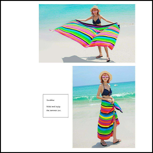 EXTRA LARGE MICROFIBRE LIGHTWEIGHT BEACH TOWEL QUICK DRY TRAVEL TOWEL 3