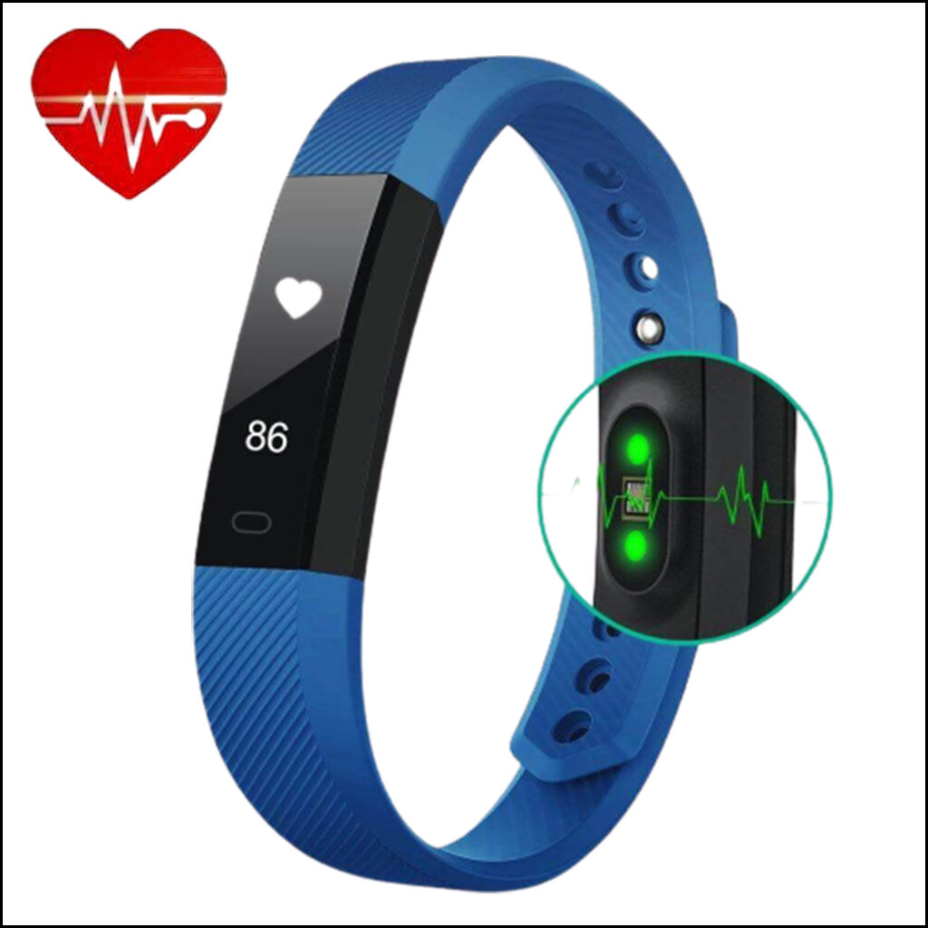 FITNESS TRACKER HEART RATE MONITOR SMART BRACELET WATCH 1