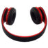 FOLDABLE TRAVEL WIRELESS BLUETOOTH OVER-EAR STEREO HEADPHONES SPORT HEADSET MICROPHONE