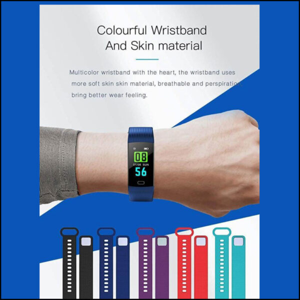 HEART RATE FITNESS TRACKER BLOOD PRESSURE MONITOR 3