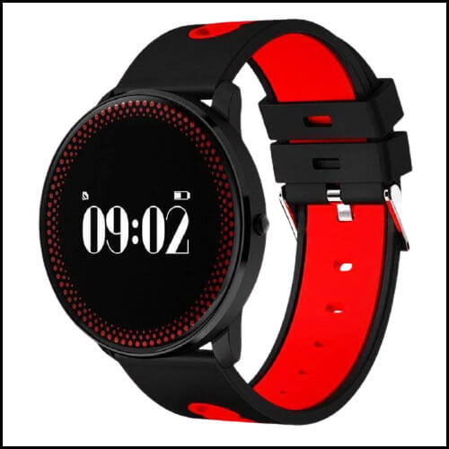 HEART RATE MONITOR WATCH – MAIKOU CF007 SMART BRACELET W/ HEART RATE MONITOR / PEDOMETER.