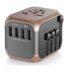 INTERNATIONAL TRAVEL ADAPTOR POWER PLUG ADAPTER USB WALL CHARGER