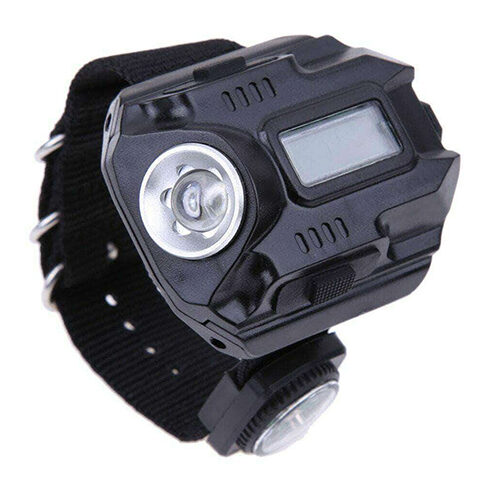 LED FLASHLIGHT WRIST WATCH FOR OUTDOOR CAMPING AND HIKING