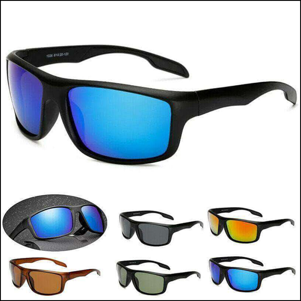MEN'S FASHION SUN GLASSES POLARIZED STYLISH OUTDOOR SPORTS GLASSES