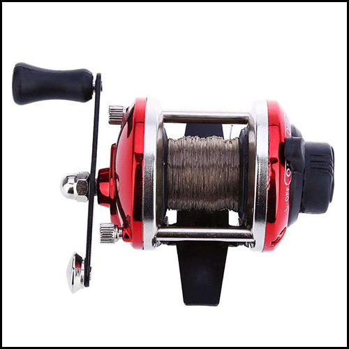MINI RIGHT HAND DRUM FISHING WIRE WINDER WITH 0.2MM LINE 50M