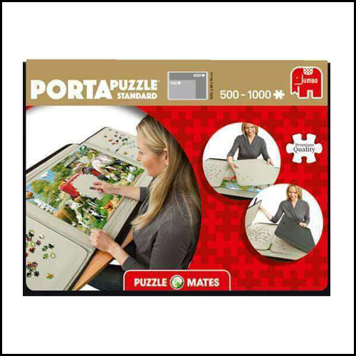 Puzzle Mates Portapuzzle 1000 Piece Jumbo Jigsaw Puzzle Board Storage Mat Case