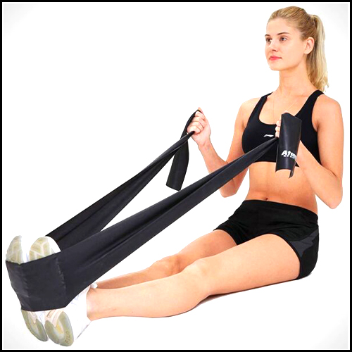 RESISTANCE BAND EXERCISE BAND IDEAL FOR PHYSIOTHERAPY, STRENGTH