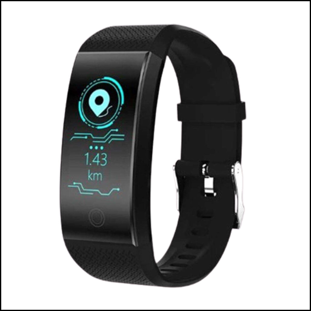 SMART BRACELET FITNESS TRACKER PEDOMETER BLUETOOTH HEART RATE BLOOD PRESSURE SENSOR LIFE WATERPROOF SMART WATCH 1
