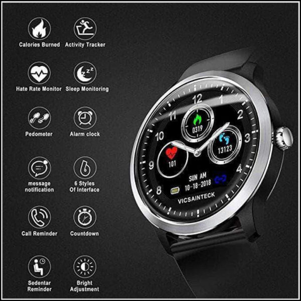SMART SPORTS FITNESS TRACKER WITH HEART RATE MONITOR 1