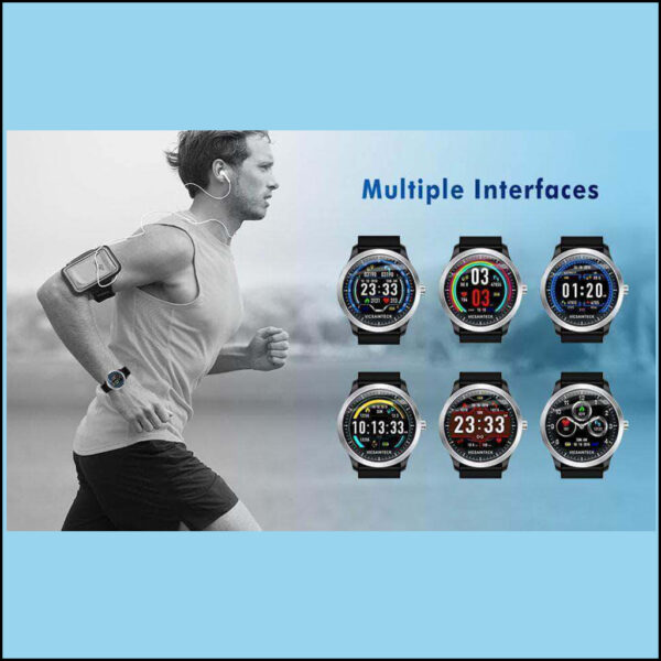 SMART SPORTS FITNESS TRACKER WITH HEART RATE MONITOR 2