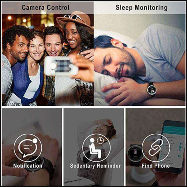 SMART SPORTS FITNESS TRACKER WITH HEART RATE MONITOR 4