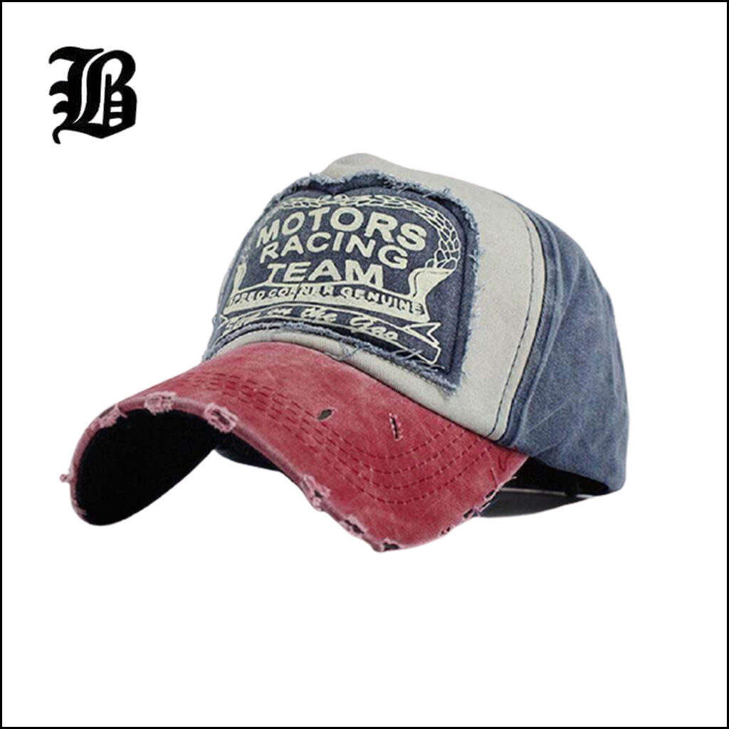 SPRING COTTON BASEBALL CAP SNAPBACK HAT
