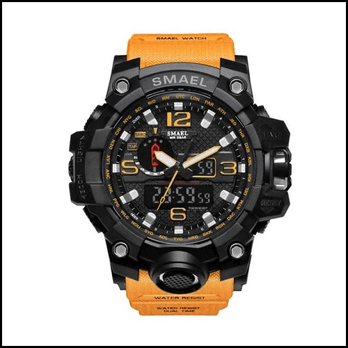 THE ADVENTURER TACTICAL OUTDOORS WATCH MULTI-FUNCTION LED WATCH