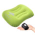 TRAVEL PILLOW NECK SUPPORT COMFORT INFLATABLE POCKET COMPACT STRESS RELIEF