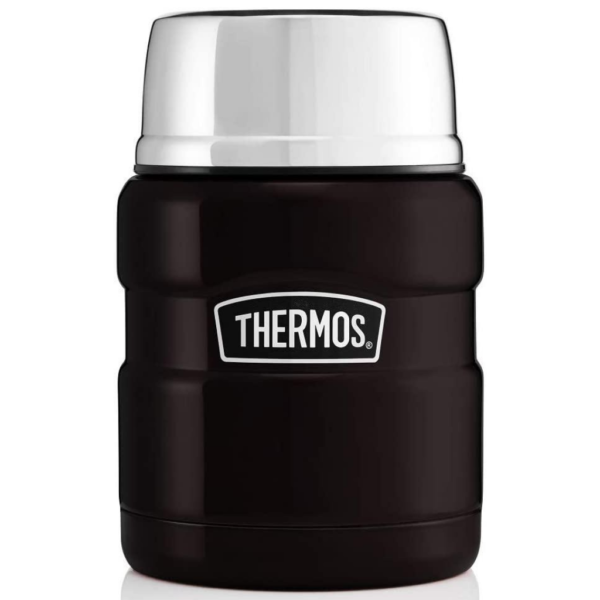 Thermos Stainless King Food Flask Matte Black 470 ml 2020