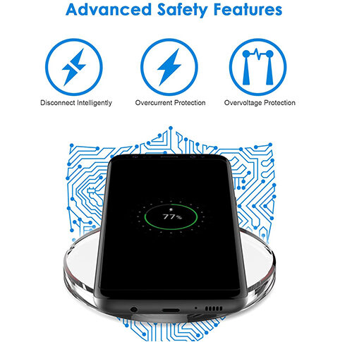 Universal Wireless Charger Qi Charging Pad 3
