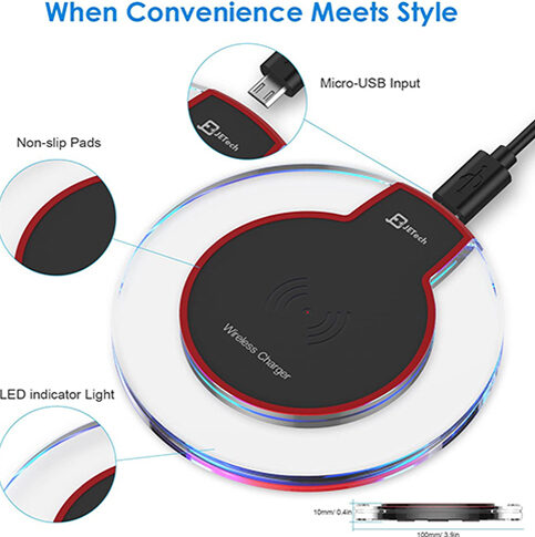 Universal Wireless Charger Qi Charging Pad