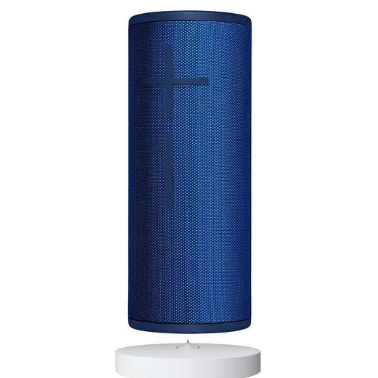 ULTIMATE EARS BOOM 3 WIRELESS BLUETOOTH SPEAKER + POWER-UP CHARGING DOCK IN BLACK AND BLUE 5