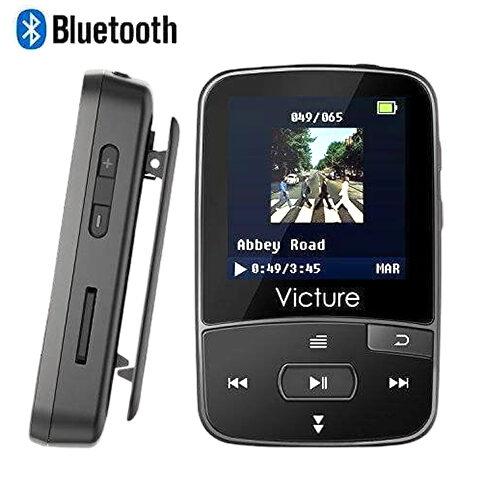 VICTURE BLUETOOTH MP3 8GB CLIP SPORT PORTABLE LOSSLESS SOUND HI-FI MUSIC PLAYER
