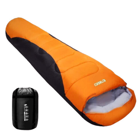 WARM MUMMY SLEEPING BAG FOR ADULTS LIGHTWEIGHT AND COMPACT BREATHABLE HOLLOW COTTON FOR BACKPACKING HIKING CAMPING