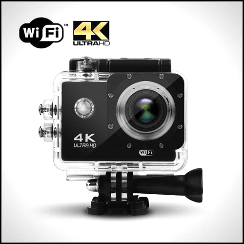 WIFI ACTION SPORTS CAMERA 4K UHD 16MP