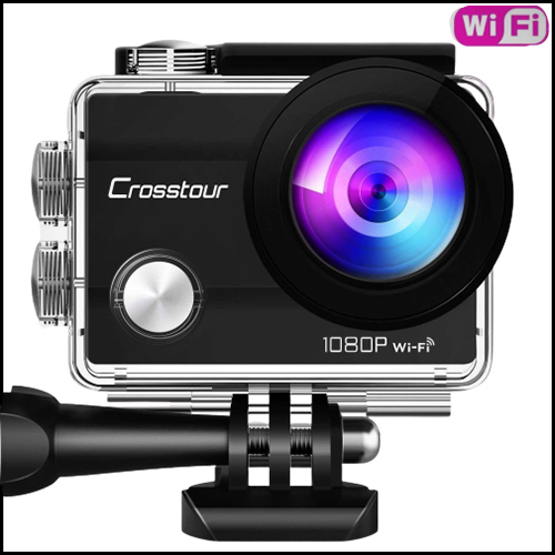WIFI WATERPROOF 1080P ACTION CAMERA 12MP FULL HD
