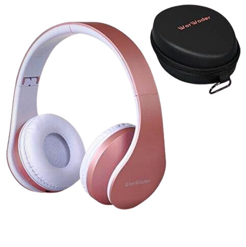 WIRELESS BLUETOOTH OVER EAR STEREO FOLDABLE HEADPHONES WIRED MODE NEW