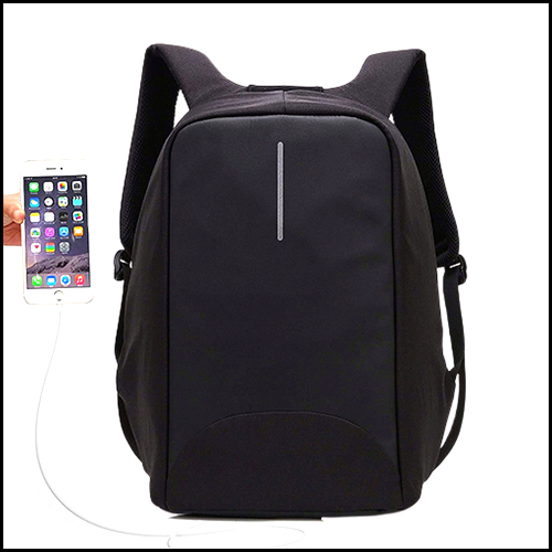 15.6″ ANTI THEFT LAPTOP BACKPACK WITH USB CHARGING