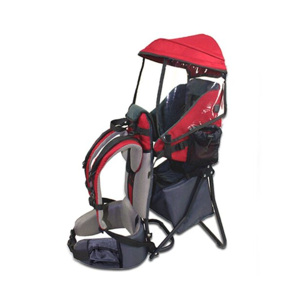 Baby Toddler Hiking Backpack Carrier Child Hiking Carriers with Rain Sun Cover