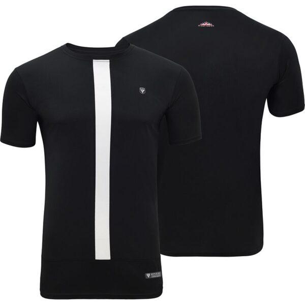 t15 nero black t shirt shorts set 4
