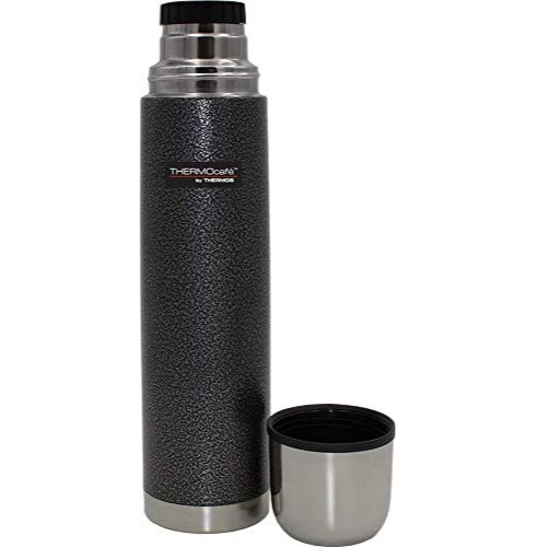ThermoCafe Hammertone Stainless Steel Flask Grey 500ml