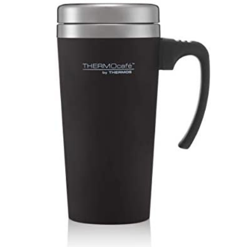 ThermoCafe Soft Touch Travel Mug Black 420ml