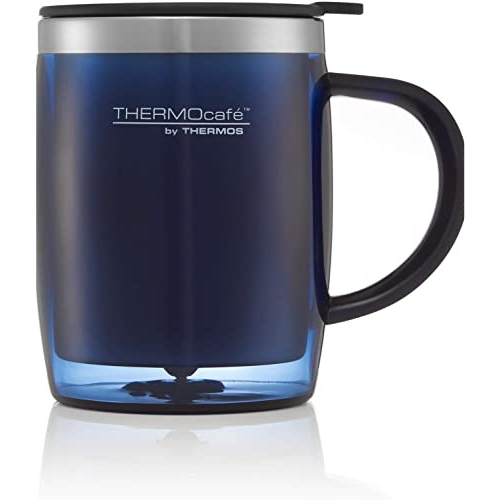 ThermoCafe Translucent Desk Mug blue 450ml