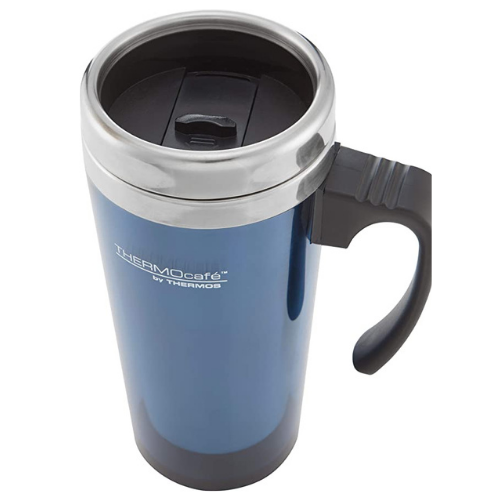 ThermoCafe Translucent Travel Mug Blue 420ml
