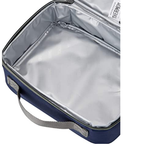 Radiance Zip Round Lunch Kit Navy