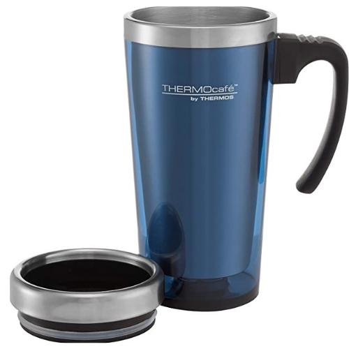 ThermoCafe Translucent Travel Mug Blue 420ml
