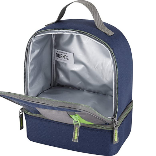 Radiance Dual Compartment Lunch Kit Navy