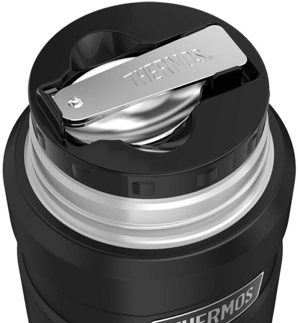 Thermos Stainless King Food Flask 710ml Mate Black