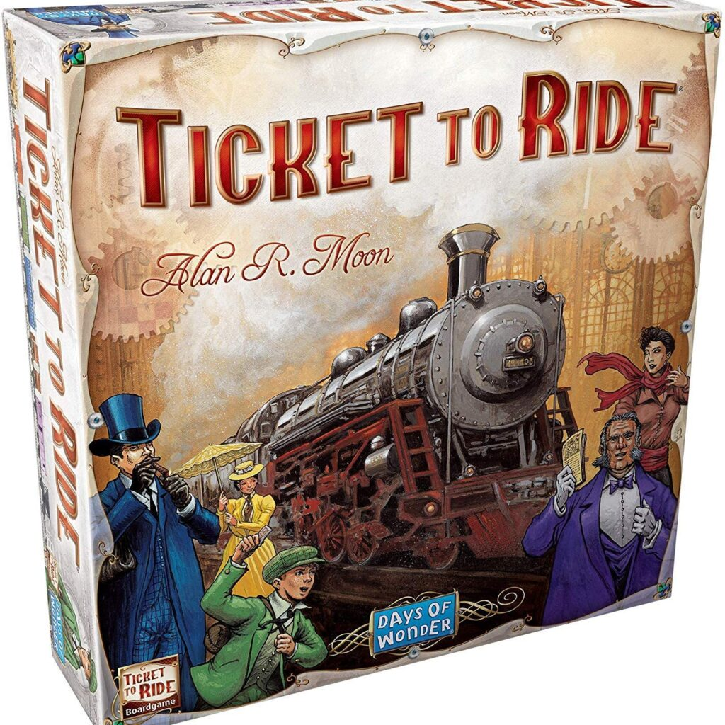 Days of Wonder Ticket to Ride Board Game