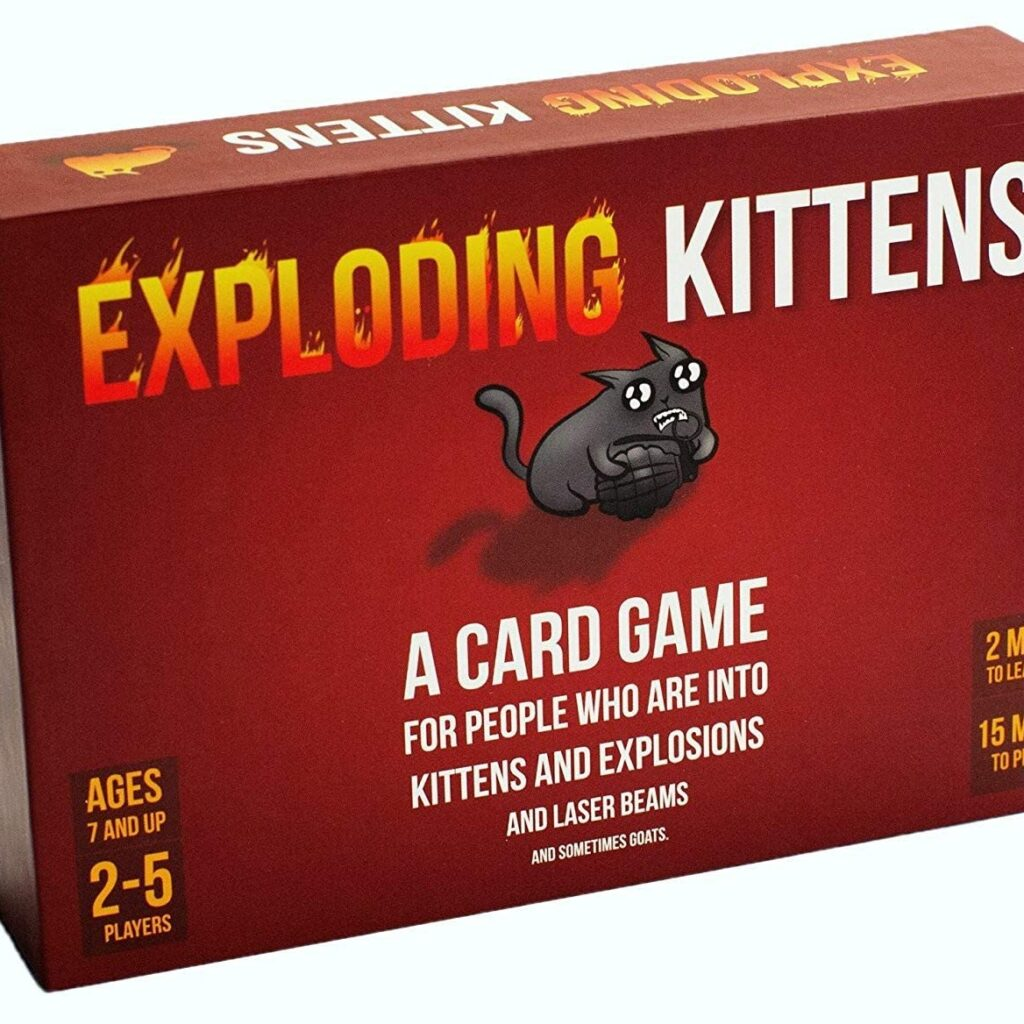 Exploding Kittens Card Games For Adults, Teens & Kids
