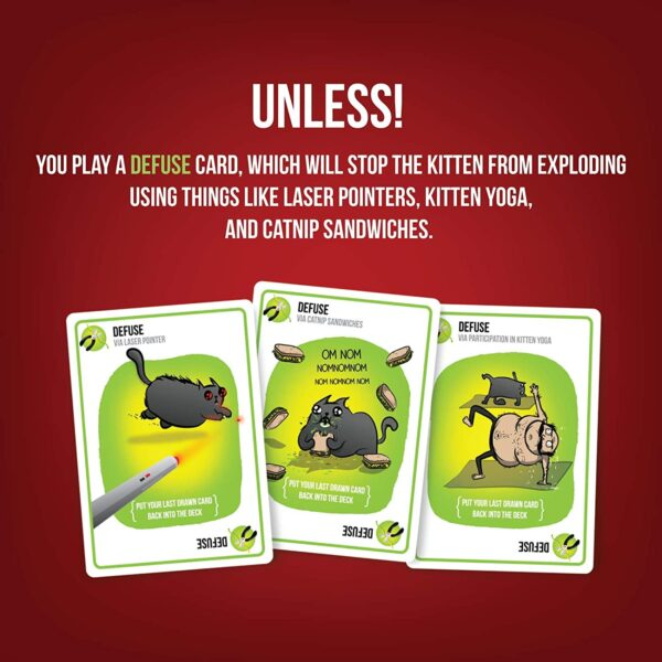 Exploding Kittens Card Games For Adults, Teens & Kids 2