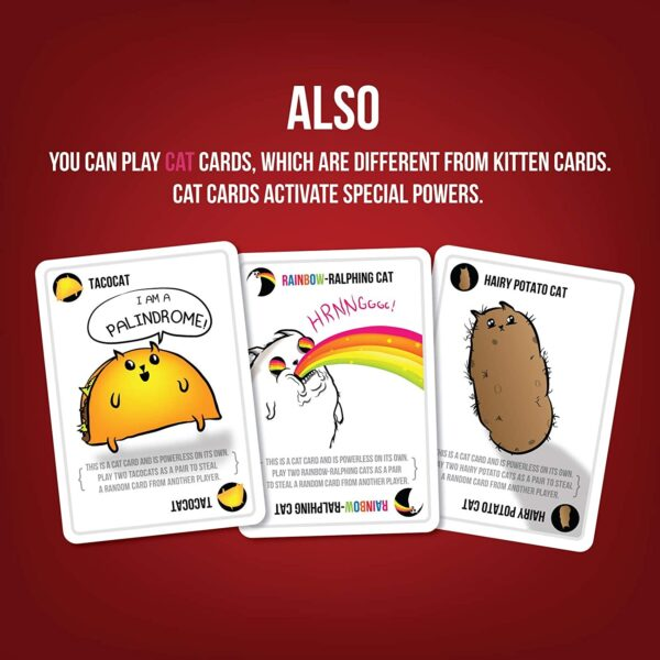 Exploding Kittens Card Games For Adults, Teens & Kids 4